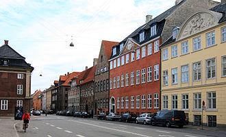 Strandgade - Strandgade at Asiatisk Plads, looking north-east