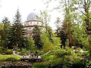 Jardin botanique de l'Université de Strasbourg - Jardin botanique with Observatory of Strasbourg