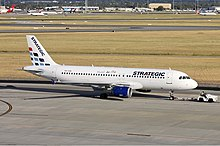 Strategic Airlines Airbus A320 PER Koch.jpg