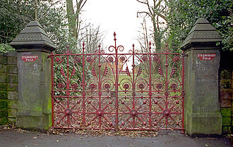 Strawberry Field - The gates of Strawberry Field, in Liverpool, England