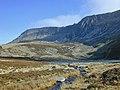 Stream flowing from Llyn Gafr - geograph.org.uk - 520470.jpg