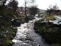 Stream near Fox House Inn, Sheffield - geograph.org.uk - 1909736.jpg