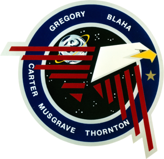 Frederick D. Gregory - Image: Sts 33 patch
