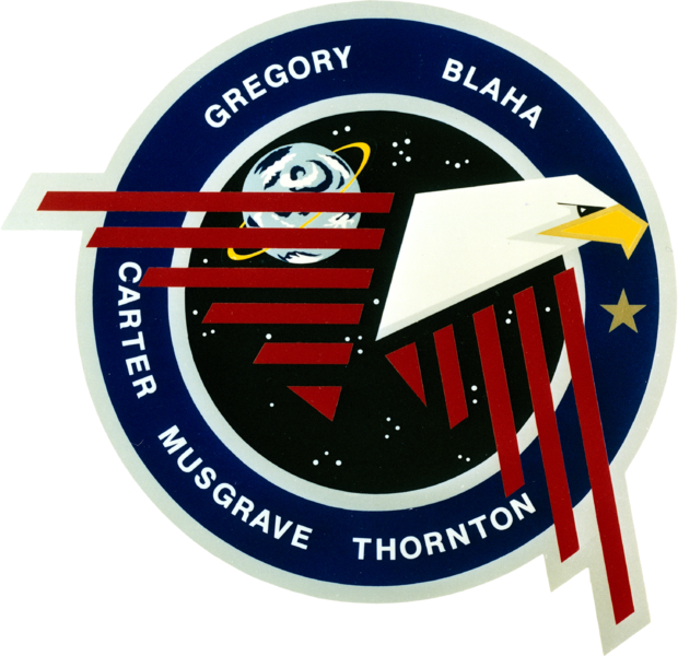 Fichier:Sts-33-patch.png