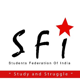 Students' Federation of India - Students Federation of India ( SFI )