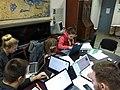 Students in Pritsak Memorial Library.jpg