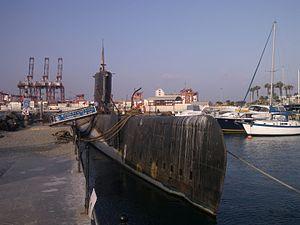BAP Abtao (SS-42) - Image: Submarinoabtao callao