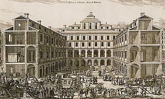1691 in Sweden - Construction work in Stockholm 1691; likely the first time the Mursmäckas are depicted