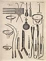 Surgical instruments. Engraving by Andrew Bell. Wellcome V0016376.jpg