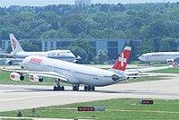 HB-JMA - A343 - Swiss