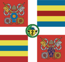 Swiss Guard Flag PP Francis-Anrig