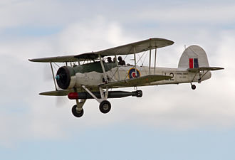 Fairey Swordfish - Swordfish number LS326 in flight in 2012