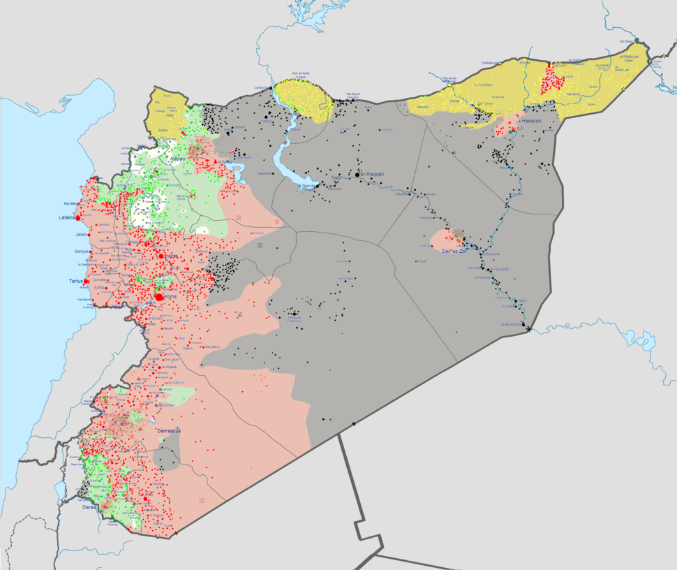 Syrian civil war 01 06 2015