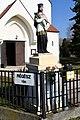 Szeged-Tápé, Nepomuki Szent János-szobor 2021 02.jpg