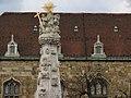 Szentháromság Square Holy Trinity column detail, 2013 Budapest (225) (13228522315).jpg