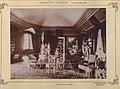 Szlovákia, Videfalva. Asbóth János kastélyának könyvtára. A felvétel 1895-1899 között készült. - Fortepan 83431.jpg