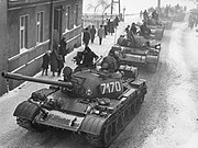 T-55A Martial law Poland