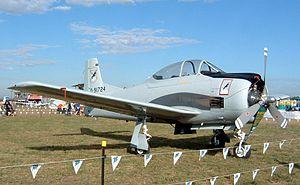 Royal Lao Air Force - North American T-28 Trojan trainer aircraft, ex-Royal Laotian Air Force.