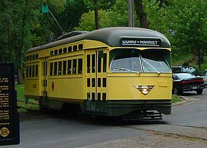 Morningside, Minnesota - The Como-Harriet Streetcar Line