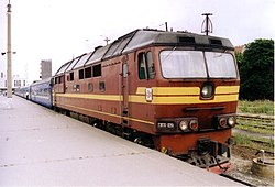 TEP70 diesel locomotive in Tallinn.jpg