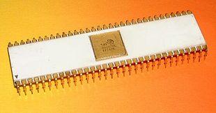 Il TMS-9900 il primo microprocessore a 16 bit su singolo chip