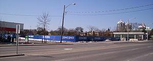 Concord Park Place - looking southwest