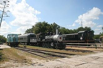 Texas Transportation Museum - Image: TTM Locos