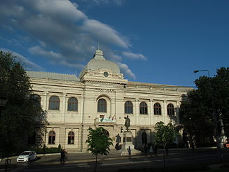 Gheorghe Asachi Technical University of Iași - The University Palace building houses Technical University Central Library and Aula, as well as the Faculty of Electronics