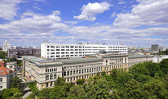 Technical University of Berlin - Main building of TU Berlin in 2010