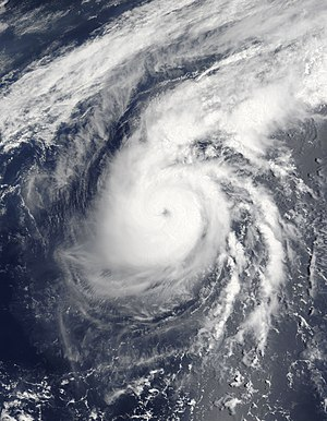 2007 Pacific typhoon season - Image: TY Yutu 2007 MODIS May 20