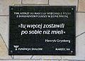 Tablica Marzec 1968 Dworzec Gdański.JPG