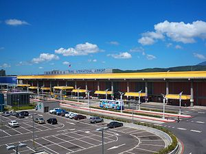 Taipei Songshan Airport - Image: Taipei Songshan Airport 1st Terminal Building 20090926
