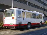 Takushoku bus O200F 0180rear.JPG