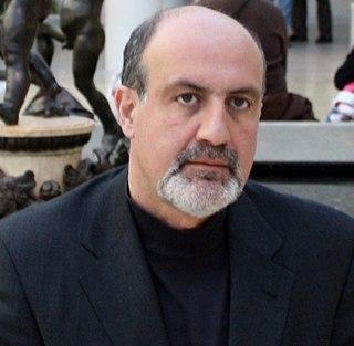 Nassim Nicholas Taleb French-Lebanese-American essayist, scholar, statistician, former trader and risk analyst
