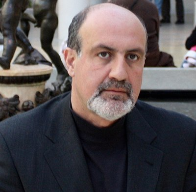Picture of an author: Nassim Nicholas Taleb