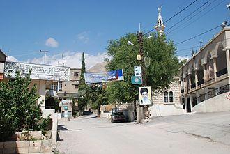 Temnin el-Foka - Temnine el-Faouqa, Lebanon, center of village