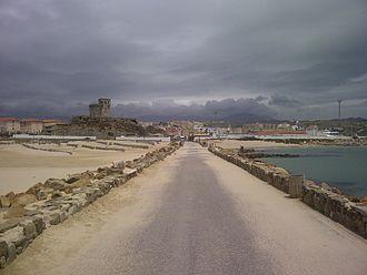 Tarifa - Tarifa seen from the Isla de Las Palomas.