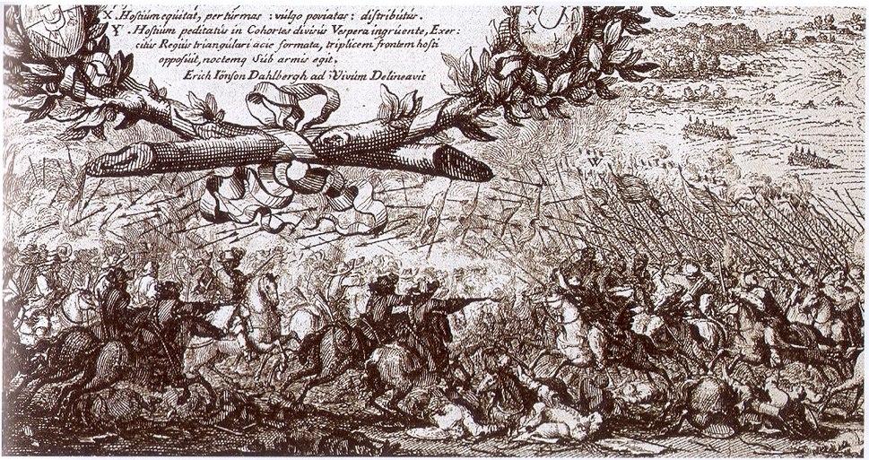 Tatar attack warsawa 1656