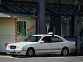 Taxi in Silber Mannheim Innenstadt August 2012.JPG