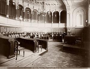Tbilisi City Assembly - Main Hall, 19th century