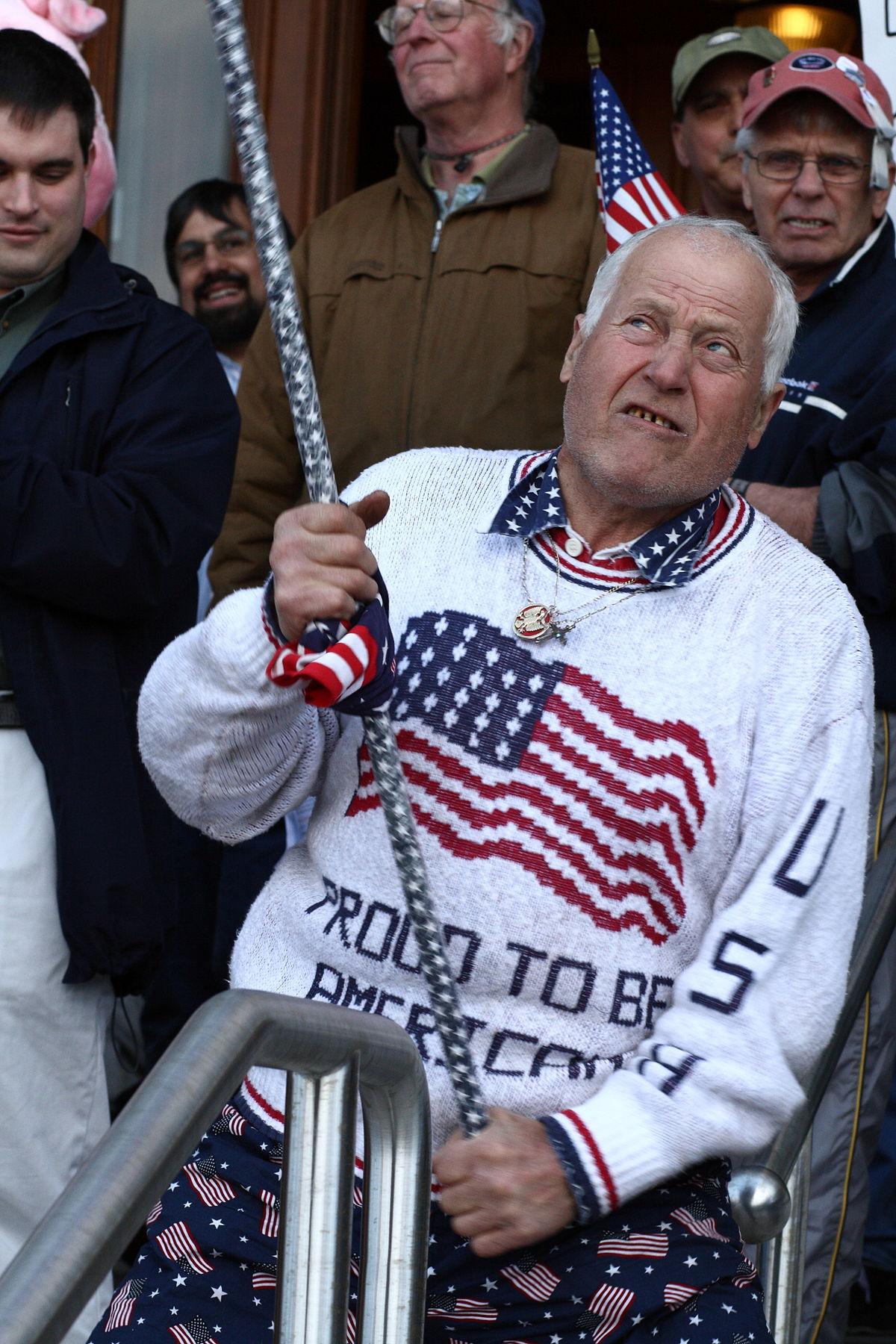 Flag waver - Wikipedia