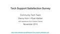 Tech support satisfaction survey - Lightning talk.pdf
