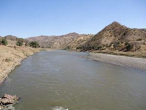 Tekezé River - A crossing at the Tekezé River