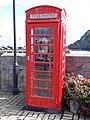 Telephone kiosk on the Quay at Ilfracombe.jpg