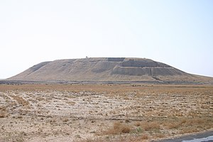 Tell (archaeology) - View of Tell Barri (northeastern Syria) from the west