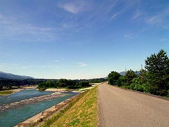 Tenryū River - The Tenryū River.