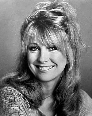 Teri Garr - Signed photo of Garr in the 1970s