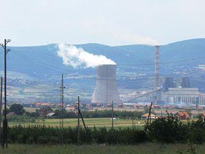 Kosovo B Power Station - Image: Termoelektrane Kosovo B
