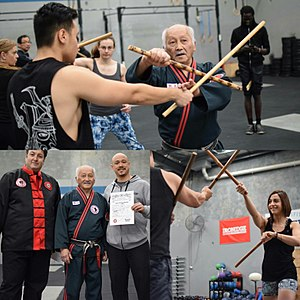 Arnis - Image: Terry Lim's Kali Seminar with Maurice Ruiz and Ben Poon