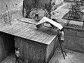 Tetőjavítás, 1946 Budapest. Fortepan 73008.jpg